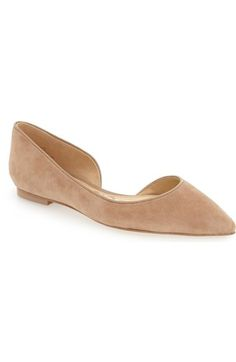Sam Edelman 'Reema' Half d'Orsay Flat (Women) available at #Nordstrom
