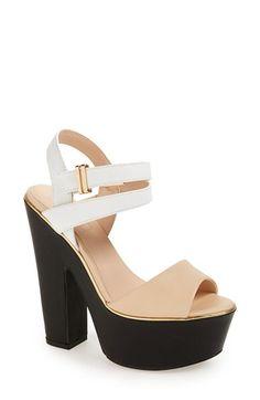 Topshop 'Lenni2' Platform Sandal (Women)   Nordstrom