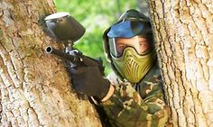 Groupon - Bricket Wood Paintball: Full-Day Experience For Up to Ten People With 100 Balls Each for £10 (90% Off) in Bricket Wood. Groupon deal price: £10