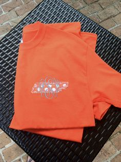 Raggy State Applique Shirt with Monogram by EmmabellasDesigns, $24.00