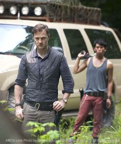 """The Walking Dead Season 3 Production Photos...sneak-peek pic of """"the governor""""...can't wait for season 3."""