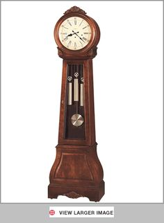 Grandfather clock.  I like the round face.