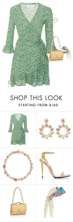 """Untitled #3573"" by stylebyfashionmerger ❤ liked on Polyvore featuring Faithfull, Larkspur & Hawk and Gucci"