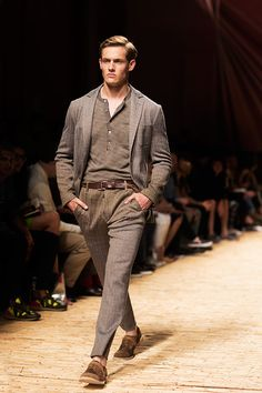 Missoni Men's SS 2014 Fashion Show on Thesartorialist.com