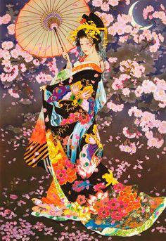 #geisha #cherryblossom