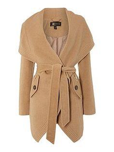Lipsy Kardashian Kollection Luxury Tie Waist Coat
