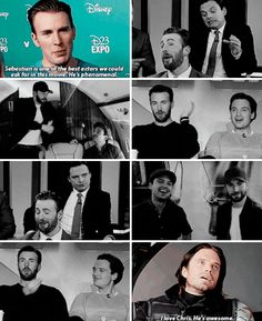 In the second one... Seb, whatcha doin'?