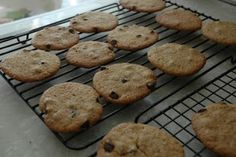 Chocolate Chip Cookies (g/f, d/f e/f)