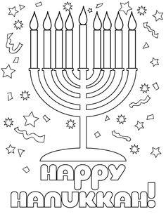 40 Best Hanukkah images | Hanukkah, Coloring pages ...