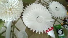 Crepe Paper Flowers Tutorial, Paper Flowers Craft, Large Paper Flowers, Giant Paper Flowers, Large Flowers, Flower Crafts, Diy Paper, Paper Art, Paper Crafts