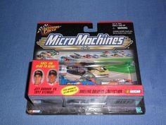 1999 NASCAR Winner's Circle Micro Machines . . . Jeff Gordon vs. Tony Stewart Dueling Drivers' Collection by NASCAR. $14.75