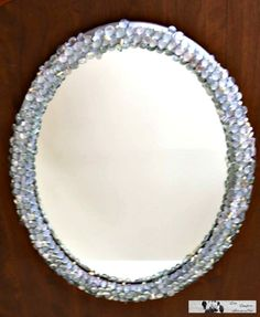 Transform your old mirror or those boring mirrors into something posh. Check out this easy $10 Mirror Make Over