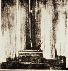 Edward Gordon Craig Stage design