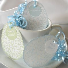 Inspiring Ideas with artist Jeanne Winters: Easter Place Card Idea