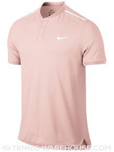 Nike Men's Fall Solid Pique Henley Size MEDIUM