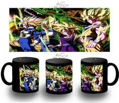 Taza Negra Dragon Ball Personajes 2 Nivel Bola Black Mug Tazza Tasse Coupe Mug - Bekiro