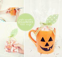 Simple last-minute DIY Halloween treat for friends or teachers.