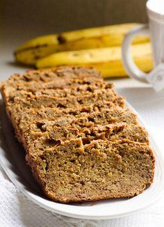 banana coconut flour bread Banana Recipes No Flour, Banana Bread Coconut Oil, Clean Banana Bread, Banana Bread With Oil, Banana Recipes Easy, Zucchini Banana Bread, Peanut Butter Bread, Flours Banana Bread, Coconut Flour Bread