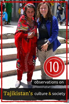 10 Observations on Tajikistan culture and society