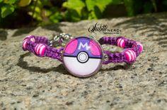 Master Ball Bracelet from Pokemon by SubtleNerd on Etsy