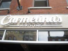 Carmelina's North End Boston