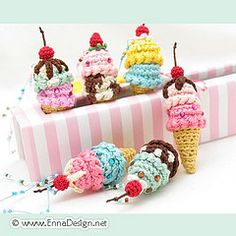 knitted ice-cream =))