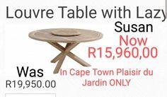 Only du Jardin Cape Town ! Garden Furniture, Outdoor Furniture, Cape Town, Outdoor Living, Dining Table, Home Decor, Gardens, Outdoor Garden Furniture, Outdoor Life