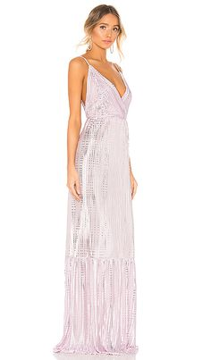Shop for Sabina Musayev Fiona Dress in Lilac at REVOLVE. Free day shipping and returns, 30 day price match guarantee. Revolve Clothing, Purple Dress, Bridesmaid Dresses, Bridesmaids, Casual Outfits, Shoulder Straps, Israel, Neckline, Mens Fashion