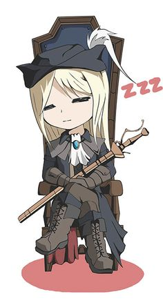 Chibi Lady Mariia. Awwwww. This is so cute.
