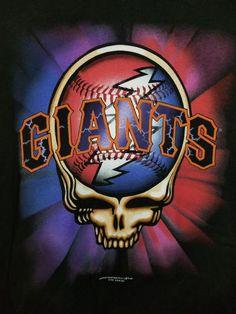55f9946d9f4 San Francisco Giants Grateful Dead Steal Your Face T-Shirt 1997 GDM MLB  Size XL  sfgiants  HanesBeefyT  GraphicTee