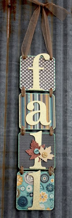 CORRUGATED TIN LETTERS FOR CHRISTMAS     so cute and so easy! Can make any word :) In lieu of wreaths.