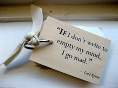 If I don't write...this might explain some things:)