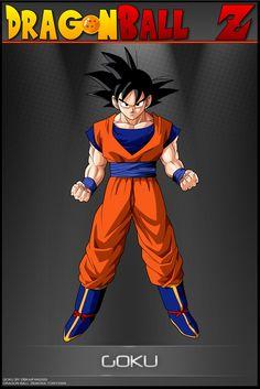 Dragon Ball Z - Goku AS by DBCProject.deviantart.com on @deviantART