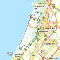 Fietsroute: Bloemendaal aan Zee, liefde voor duinen  (http://www.route.nl/fietsroutes/116313/Bloemendaal-aan-Zee-liefde-voor-duinen/)