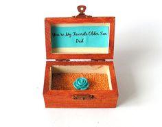 https://www.etsy.com/treasury/MTczMjYxOTB8MjcyMjcwNDA5OQ/elite-turquoise-and-orange Wood Box You're My Favorite Older Son Custom Gift by LovingCorner, $22.50
