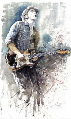 watercolor  Yuriy Shevchuk John Meyer