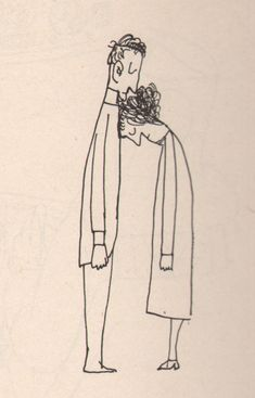 Illustration by Saul Steinberg Art And Illustration, Childrens Book Illustration, Saul Steinberg, Art Inspo, Art Drawings, Art Photography, Character Design, Doodles, Artsy