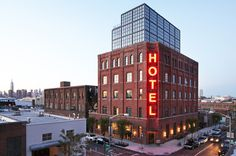 O hotel mais cool de Williamsburg no Brooklyn em Nova York.