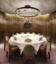 Image 10 of 16 from gallery of Pak Loh Times Square Restaurant / NC Design & Architecture. Photograph by Nathaniel McMahon Interior Design Images, Commercial Interior Design, Commercial Interiors, Modern Restaurant, Restaurant Interior Design, Chinese Restaurant, Cafe Restaurant, Times Square Restaurants, Private Dining Room