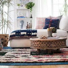 Pull Off This Classic Comeback Living Room Trend Ultra Low Coffee