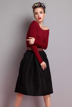 Shop Wine Red Boat Neck Slim T-Shirt online. Sheinside offers Wine Red Boat Neck Slim T-Shirt & more to fit your fashionable needs. Free Shipping Worldwide!