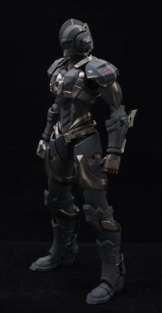 Cyberpunk, Apocalypse Armor, Character Concept, Character Design, Army Of Two, Space Opera, Robot Parts, Big Robots, Combat Armor