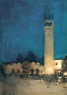 Arthur Melville - La notte blu (1897)