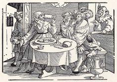 Schule der Kupplerin  Date: 1531 Artist: Erhard Schoen