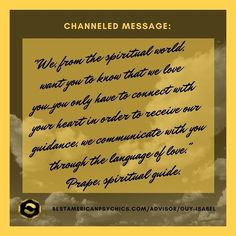 Did you know?  Many of our advisors channel messages directly from Spirit. These messages can be helpful inspirational and/or just the reminders you need to get through your day or an issue you are facing. The above message was channeled by Guy Isabel.  http://ift.tt/1TxW56f  #bap #shayparker #bestamericanspsychics #spirit #spiritual #spirituality #guidance #channeledmessages #channeling #guyisabel #spiritguides #light #love #peace #hope #psychic #automaticwriting #psychicreadings #medium…