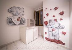 Chambre de Bébé Nounours | Chambre Graffiti