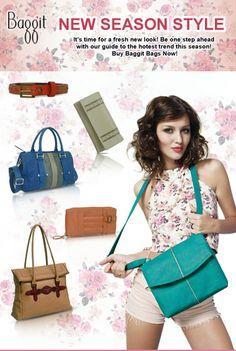 Grab them Now at: www.baggit.com