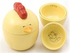 Lil' Chicky Measuring Cups (5-pc.) by Del Rey at Food Network Store.  How cute are these? Stocking stuffers for next year