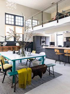 kleurrijke keuken | colorfull kitchen | vtwonen binnenkijken special 2016 | photography: Sjoerd Eickmans | styling: Gieke van Lon