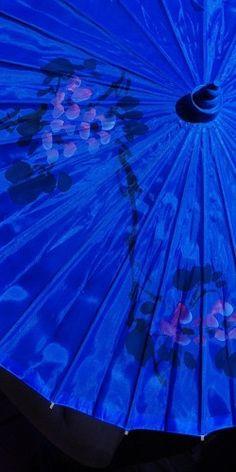 Parasol azul (von A.